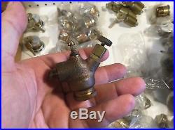Old LUNKENHEIMER 3/8 Hit Miss Gas Engine Carburetor Fuel Mixer Brass Steam NICE