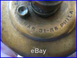 Old Lonergans Otto Hit Miss Gas Steam Engine Oiler Mar-31-85