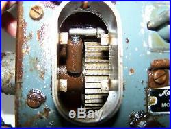 Old MADISON KIPP 2-Feed Steam Tractor Hit Miss Gas Engine Oiler Lubricator Pump