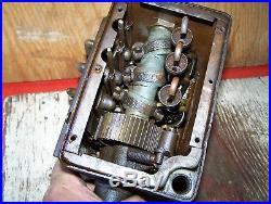 Old MADISON KIPP 3-Feed International Harvester Mogul Hit Miss Gas Engine Oiler