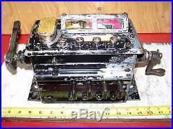 Old MADISON KIPP 4-Feed Hit Miss Gas Engine Oiler Lubricator Steam Tractor NICE