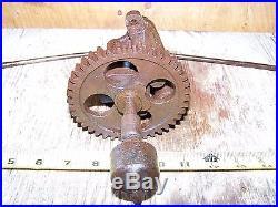 Old MASSEY HARRIS 1 1/2hp Cam Gear Shaft Hit Miss Gas Engine Steam Magneto WOW