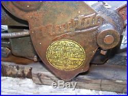 Old MAYTAG 92 Air Cooled Wash Machine Hit Miss Gas Engine Steam Kick Start WOW