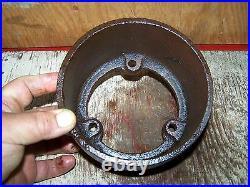 Old OTTAWA Cast Iron Belt Pulley Hit Miss Gas Engine Steam Tractor Magneto Oiler