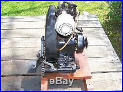 Old Original BRIGGS STRATTON FH Hit Miss Gas Engine Air Cooled Kick Start NICE