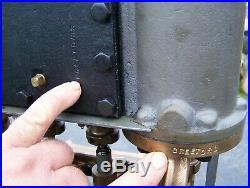 Old Original LOCOMOBILE Steam Car Engine Stanley Mason Hit Miss Tractor NICE