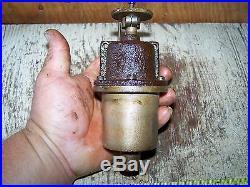Old PERKINS Hit Miss Gas Engine Carburetor Fuel Mixer Brass Steam Tractor Oiler
