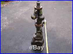Old PICKERING 2 1/2 Inch Steam Governor Tractor Hit Miss Gas Engine Oiler NICE
