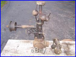 Old PICKERING 2 1/2 Steam Governor Tractor Portable Hit Miss Gas Engine Magneto