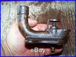 Old RAWLEIGH SCHRYER Hit Miss Gas Engine Fuel Mixer Carburetor Steam Magneto WOW