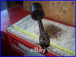 Old ROCK ISLAND EMPIRE ALAMO Hit Miss Gas Engine Piston Rod Magneto Ignitor WOW