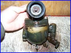 Old SCHEBLER DX319 HART PARR 12-24 Tractor Brass Carburetor Hit Miss Engine NICE