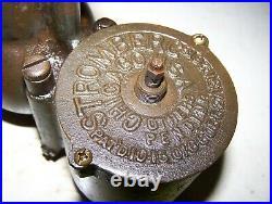 Old STROMBERG M5 M-5 Tractor Brass Carburetor Car Truck Steam Hit Miss Engine