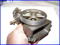Old STUART Vertical Steam Model Toy Engine Cast Iron Brass Hit Miss Oiler NICE