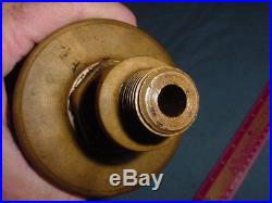 Old Style Lunkenheimer Paragon Hit Miss Gas Steam Engine Cylinder Brass Oiler