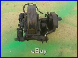 Old Style Stover Model Y 2 HP Hit & Miss Gas Engine Webster Magneto & Bracket