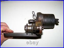 Old WEBER 303J83 Webster Magneto Ignitor Bracket Hit Miss Engine Steam Oiler