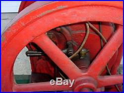 Oldest Known Cook Hit Miss Gas Engine Mfg'd Delaware Ohio 3hp