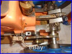 Olds Paul Breisch model 8 flywheels Hit Miss Gas Engine