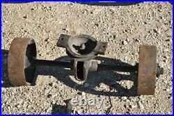 Original Challenge Gas Engine Hit Miss Cast Iron Hand Trucks