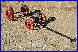 Original Cushman Cub Gas Engine Hit Miss Cast Iron Hand Trucks