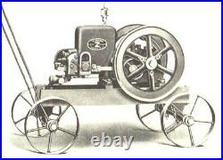 Original Fairbanks Morse Z 1 1/2 HP Gas Engine Hit Miss Trucks