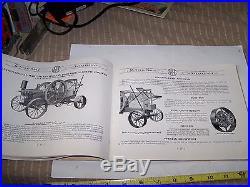 Original INTERNATIONAL HARVESTER IHC Famous Hit Miss Gas Engine Catalog NICE