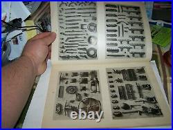 Original JI CASE STEAM TRACTOR Parts Book Catalog Traction Engine Hit Miss NICE