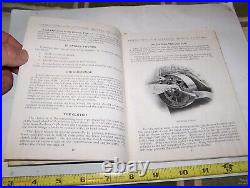 Original RUMELY OILPULL 16-30 H Tractor Owner's Manual Hit Miss Steam Engine WOW