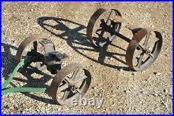 Original Rock Island Alamo Gas Engine Hit Miss Hand Trucks