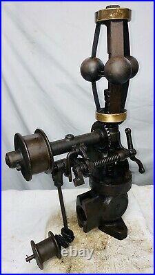 PICKERING 1 1/2 Vertical Fly Ball Governor Geiser Peerless Steam Engine Hit Miss