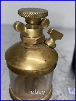 PLANET Brass Oiler #1 Hit Miss Gas Engine Antique