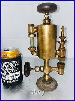 POWELL 1/2 Pint Boson BESSEMER Cylinder Brass OILER Hit Miss Engine Oilfield