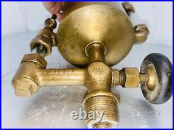 POWELL 1 QUART Boson Brass Cylinder OILER Hit Miss Steam Gas Oilfield Engine
