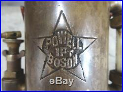 POWELL BOSON 1 Pt OILER Hit and Miss Old Steam Engine Oil Field Donkey Pump