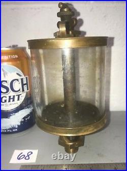 POWELL CO. PURITAN #5 Brass OILER Hit Miss Gas Engine Antique
