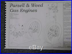 Parsell & Weed Hit Miss Engine Casting Kit, Model Gas Engine, Stationary Engine