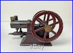 Patent 1900 Paradox Gas Engine hit miss vintage toy Schoenner, Ernst Plank, Otto
