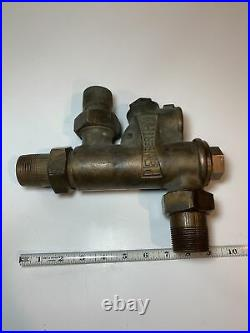 Penberthy Water Injector Hit Miss Steam Engine Boiler Steampunk Brass DD21