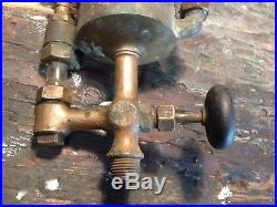 Powell 1pt Oiler Hit Miss Gas Steam Oil Field Engine Steampunk Art Gift Man Cave