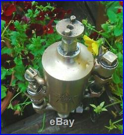 Powell Boson 1/2 Pint Steam Engine Oiler Lubricator Hit Miss Gas Oilfield