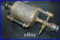 Powell Boson Large 1 Quart Oil Field Hit & Miss Gas Engine Brass Oiler
