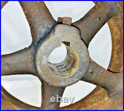 Pulley for 2 1/2 HP ALAMO Empire Rock Island Hit Miss Gas Engine