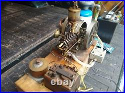 Quarter Scale Hit & Miss Model C Gade Engine Morrison & Martin Engine Works