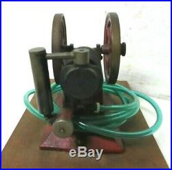 RARE 1900s cast iron Paradox Gas Engine Schoenner not steam hit miss