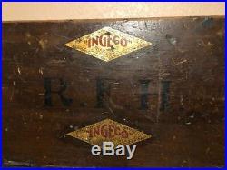 RARE International Gas Engine Co. Ingeco Hit & Miss Service Repair Toolbox