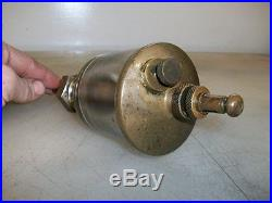 R. HENRY of PARIS FRANCE WINE OILER GLASS Style Brass Hit and Miss Gas Engine