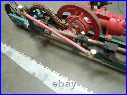 R. M. Wade Drag Saw Gas Engine -Hit Miss Complete SSM1 Excellent Condition