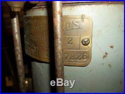 Rare 1926 PALMER YT MARINE ENGINE YACHT TENDER FIRST YEAR 4 CYCLE