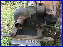 Rare Edwards Motor Company of Springfield, Ohio Hit and Miss Engine Motor